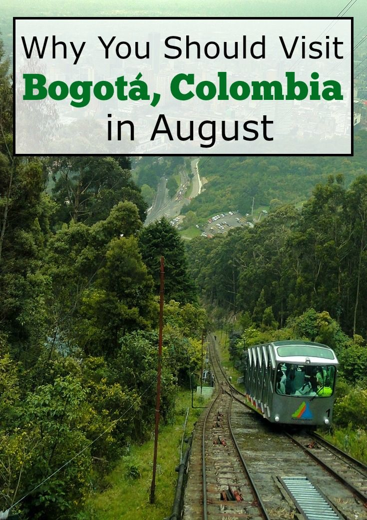 There's a lot of fun to be had in Bogota, Colombia in August!