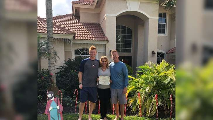 Minor-league baseball player Pavin Smith used his signing bonus to pay off his parents' mortgage   -  December 26, 2017