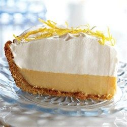 Eagle Brand(R) Lemon Cream Pie - Allrecipes.com. I used a Meyer lemon and I don't think they are tart or lemony enough for this. Creamy texture.   quick and easy to do
