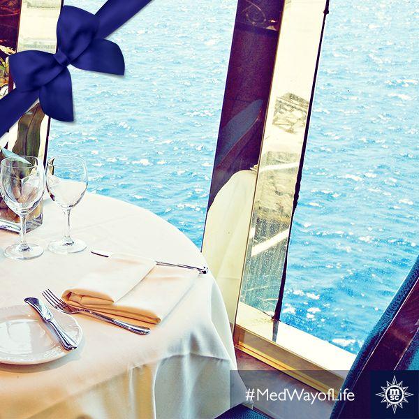 Uitgebreid dineren is elke keer weer een #feest op de #MSCFantasia!#MedWayofLife #eten