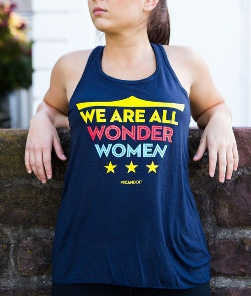 We are all WONDER WOMEN tank at WOD SuperStore