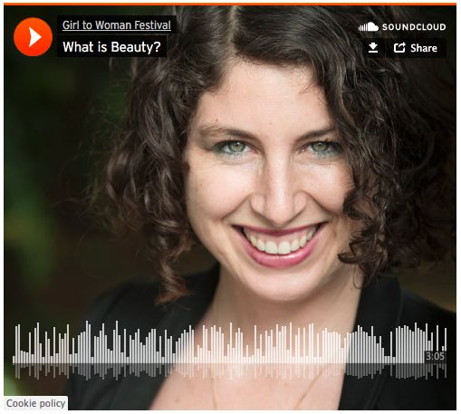 What would you say to your 15 year old self if you had the chance? Rebecca Baldwin, presenter at the Girl to Woman Festival 2015 on the truth of beauty.