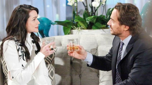 The Bold and the Beautiful. Quinn Fuller. Ridge Forrester.