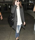 At LAX airport in Los Angeles - November 4 - Dakota Johnson Daily Pictures