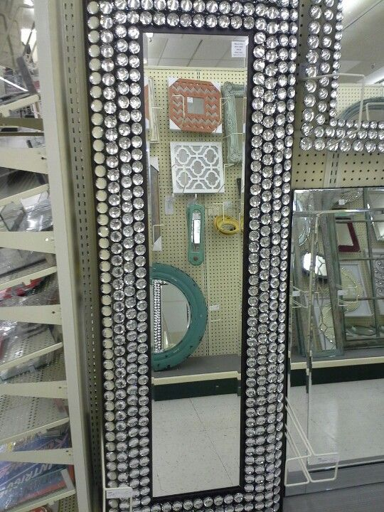 Blinged Out Mirror This Is From Hobby Lobby I Need It Home Style Pinterest Bedroom And