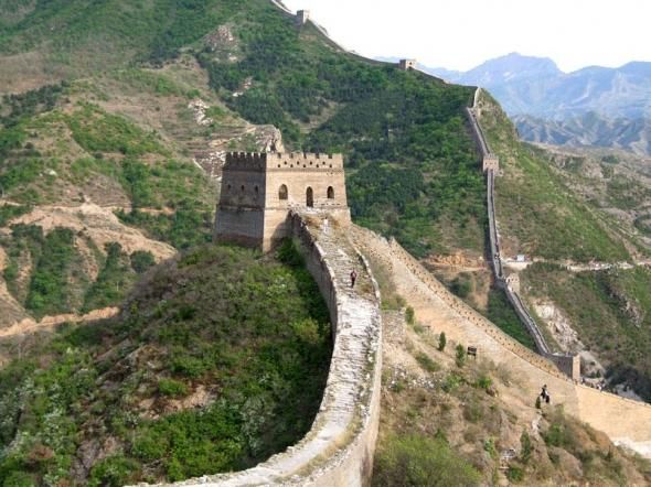 Come walk the Great Wall of China with Bruce and also see the Olympic Stadium . Beijing, China . testmylife.com