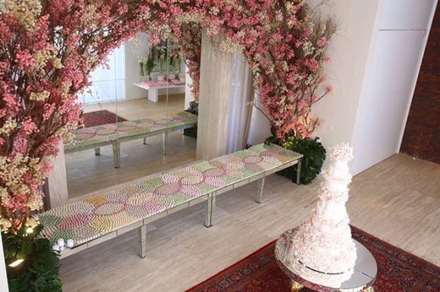 Mesa de doces - Louzieh