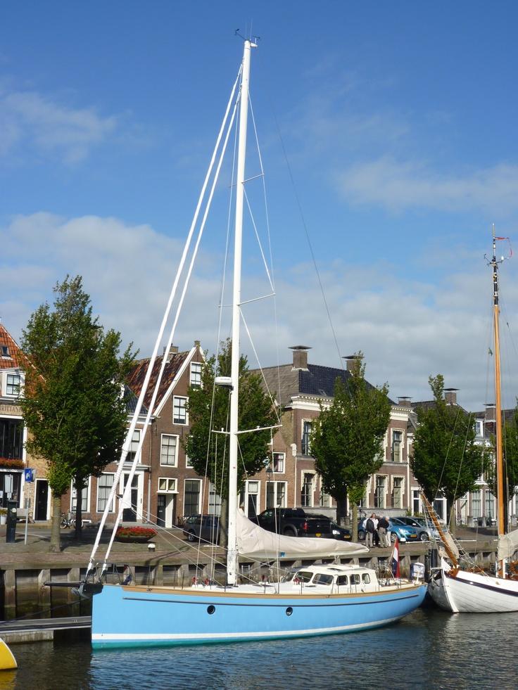 Bestewind 50 'Princess of Tides' (2012) in historic town of Harlingen (Netherlands) #sailing #yacht #bestewind (Fiberglass boat)