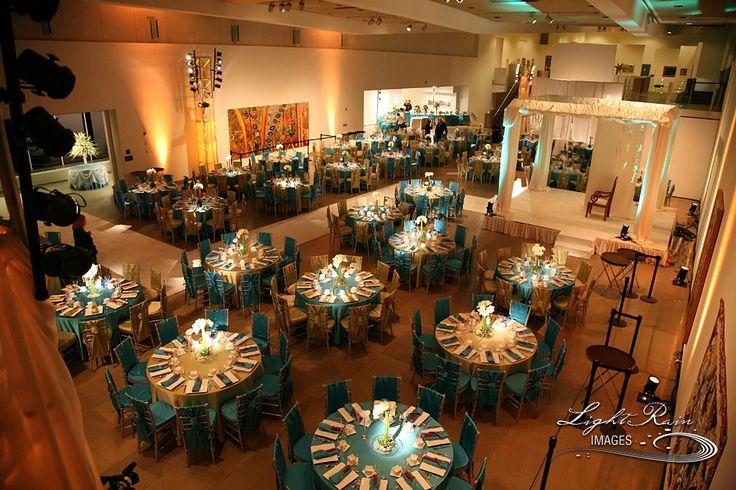 turquoise wedding light rain images phoenix art museum