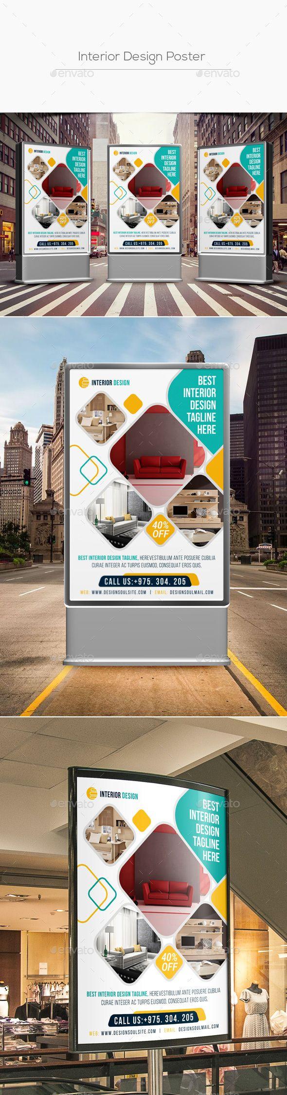 Design Poster Templates - Interior design poster template