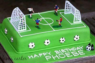 torta infantil futbol - Buscar con Google
