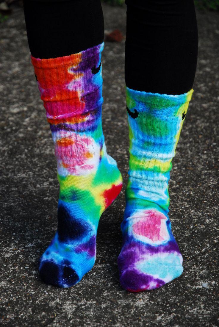 tye dye socks Google Search Tie dye outfits, Tie dye