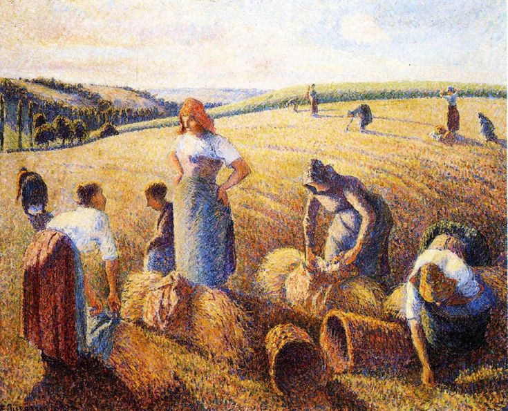 Camille Pissarro, The Gleaners, 1889