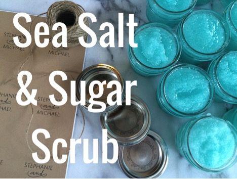 Sea Salt and Sugar Scrub Recipe 1