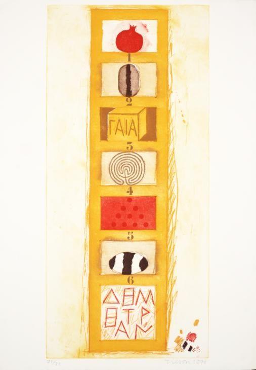 Joe Tilson 'Demetrius' Ladder', 1978 © Joe Tilson. All Rights Reserved, DACS 2016