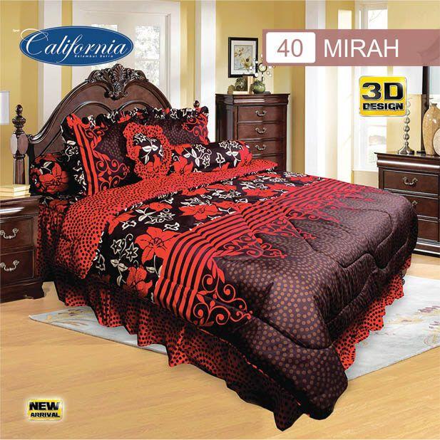 Sprei Set (King 180×200) motif Mirah Premium Lembut. Takut tidak sesuai Ukuran (kekecilan/kebesaran) ??? Kami beri garansi 30 Hari.