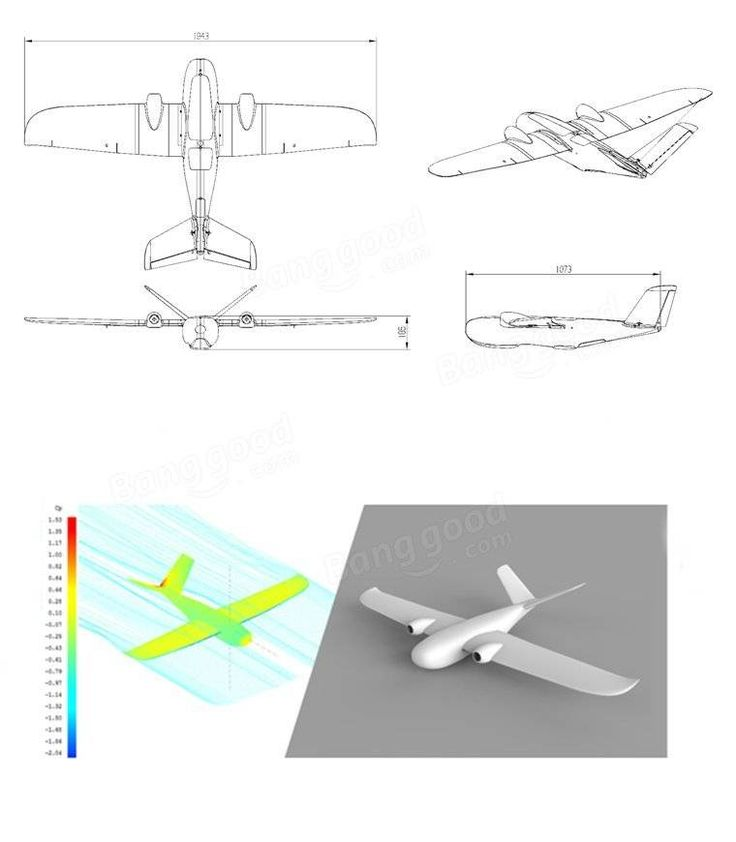 Believer 1960mm Wingspan EPO Portable Aerial Survey Aircraft RC Airplane KIT(20% off Coupon: 28fpv)