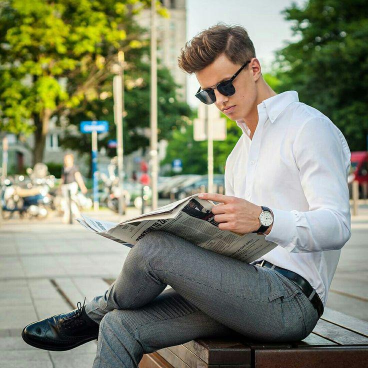 Rafal Jonkisz #men #fashion #smart #casual