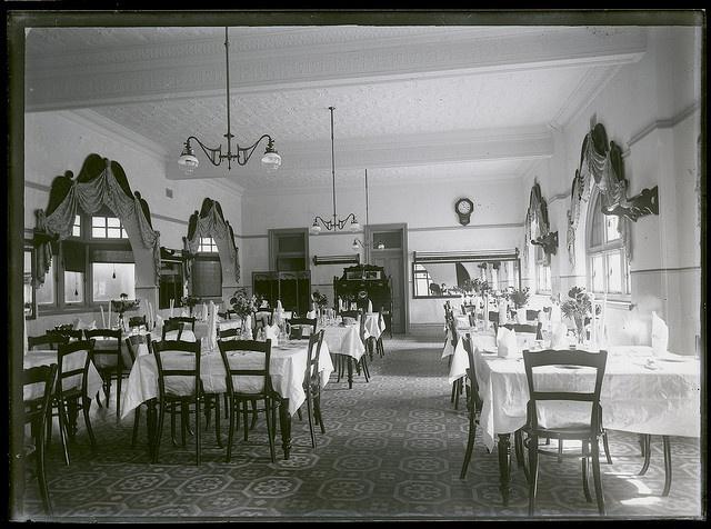Lawson's Coffee Palace, Zaara St, Newcastle, NSW, 23 April 1910