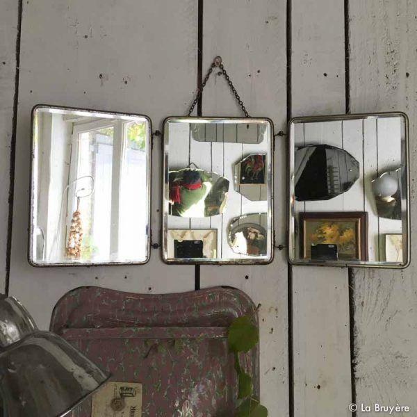 miroir de barbier. Black Bedroom Furniture Sets. Home Design Ideas