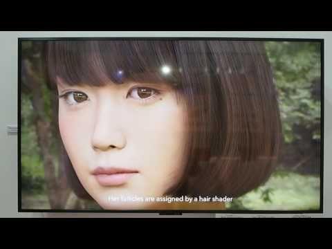 """CEATEC JAPAN 2016:""""実写にしか見えない""""3DCG女子高生「Saya」 動く8K映像公開(動画あり) - ITmedia ニュース"""