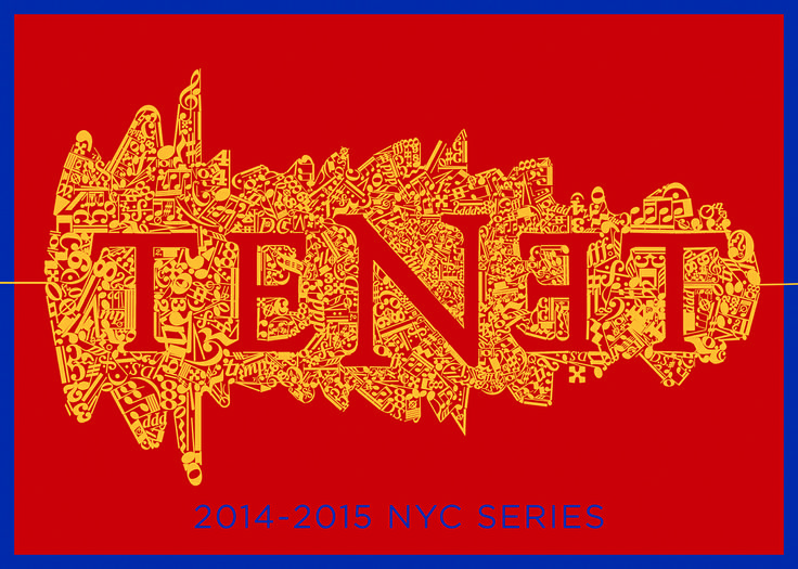 Postcard for TENET's 2014-2015 NYC series  www.tenetnyc.com
