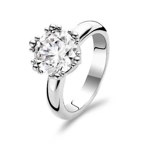 #Crystal #ring. Srebrny pierscionek. #glam #blink www.terpilowski.com.pl