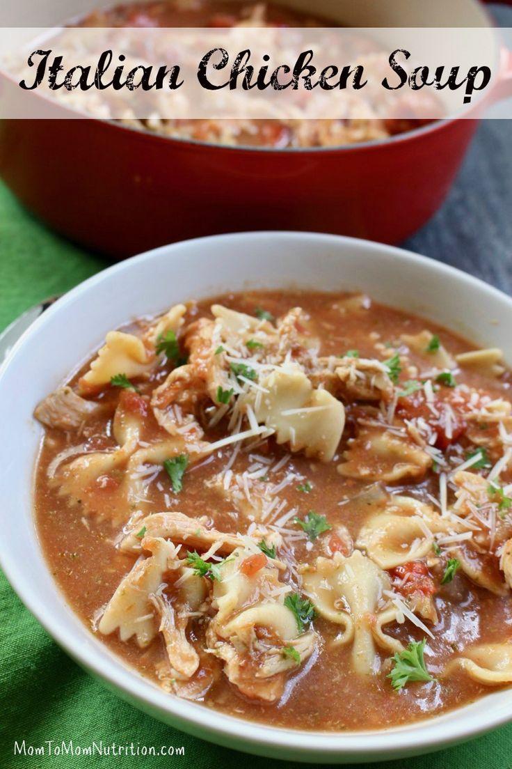 Best 25+ Italian Chicken Soup ideas on Pinterest ...