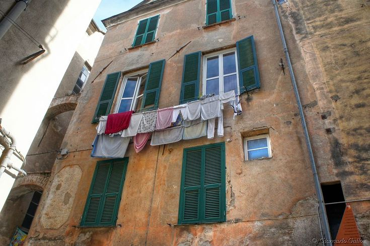 Clothes hanging out to dry by Giancarlo Gallo