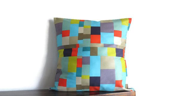Geometric cushion cover pillow cover decorative throw by stardalux, $20.00