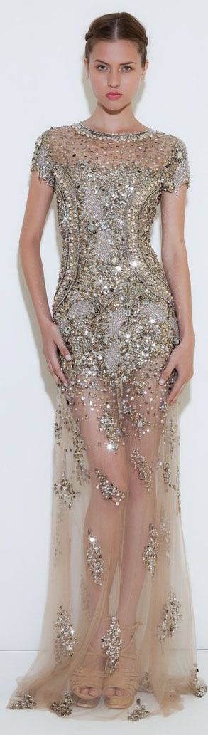 Patricia Bonaldi Haute Couture #long #formal #glitter #elegant #dress <3