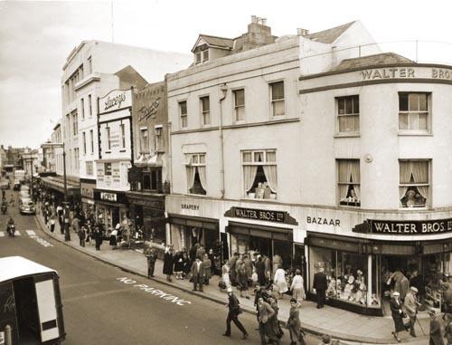 South Street Worthing 1950
