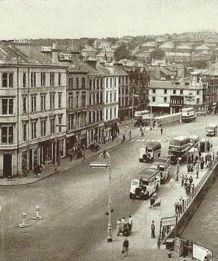 Albert Place, Rothesay in 1957.