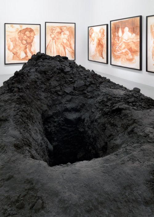 Urs Fischer - Hole, 2007