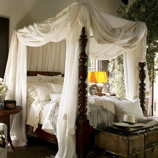 Ralph Lauren vintage bedroom decor