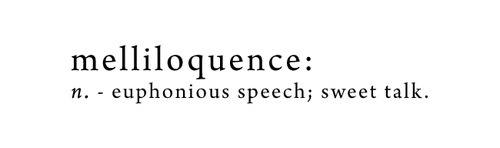 I want to use this word more often. It's so beautiful. Wow. ♥