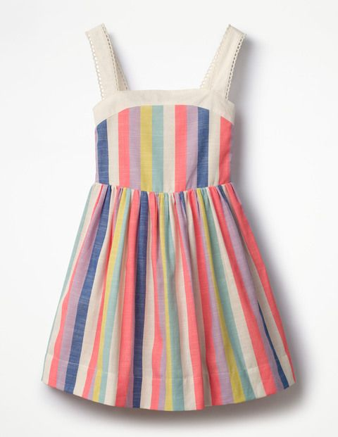 4a593598dae When life gave us lemons we made this zesty sundress – and then threw in a  candy striped version to sweeten the deal. A full skirt is perfect for  twirling ...