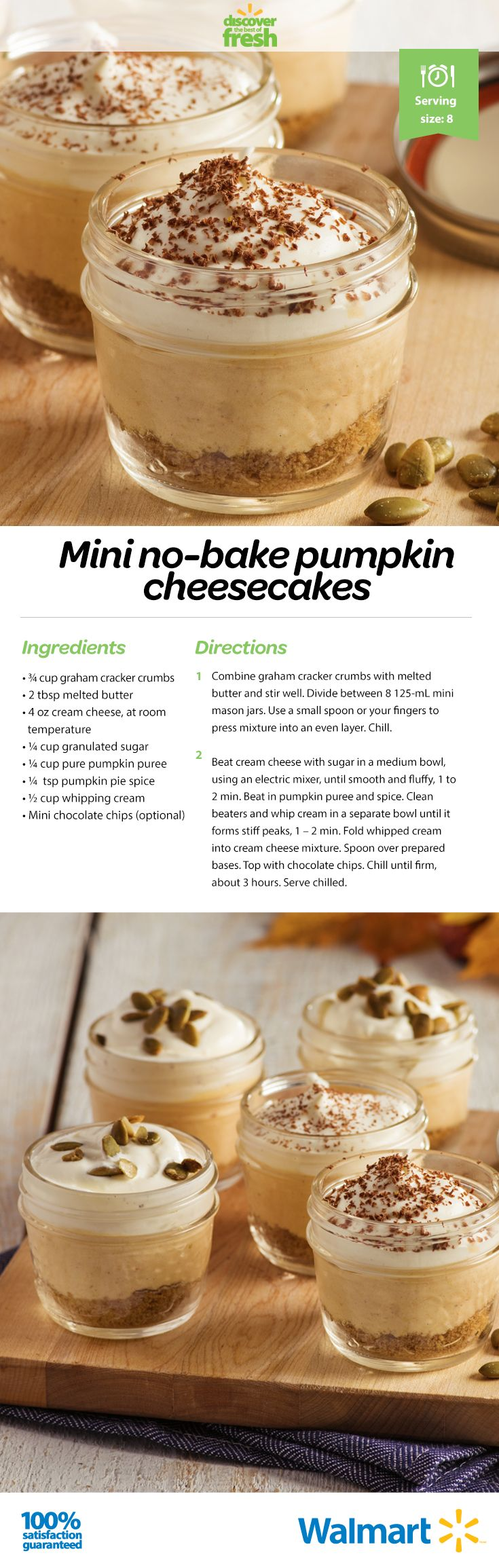 Thanksgiving flavours all wrapped up in a no-bake pumpkin cheesecake recipe. #thanksgivingrecipes