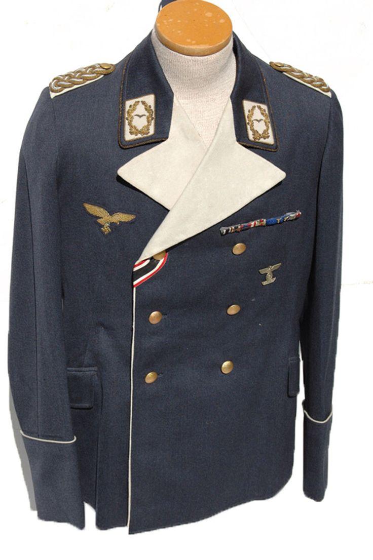 High Ranking Luftwaffe officer tunic