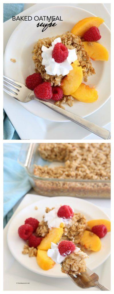 Breakfast Recipes| Easy Breakfast Baked Oatmeal Recipe