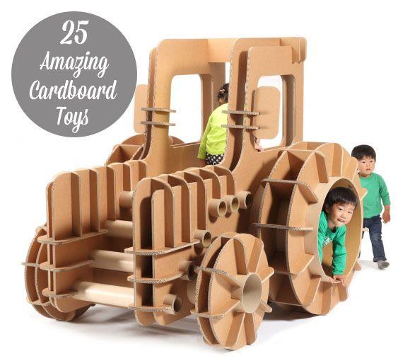 25 Amazing Cardboard Toys