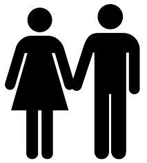 Resultado de imagen para simbolo mujer hombre