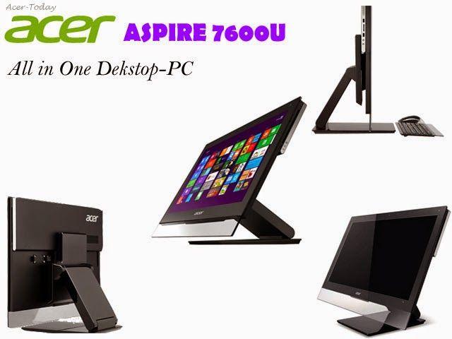 Acer Aspire 7600U AIO