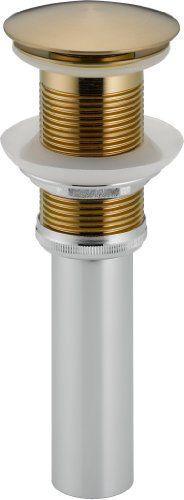Delta 72172-CZ Push Pop-Up Less Overflow, Champagne Bronze