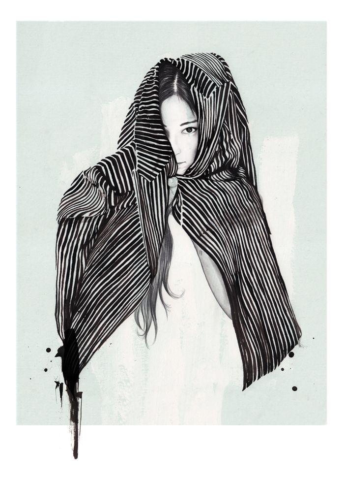 Fashion Illustrations by Esra Røise | Inspiration Grid | Design Inspiration esraroise.com