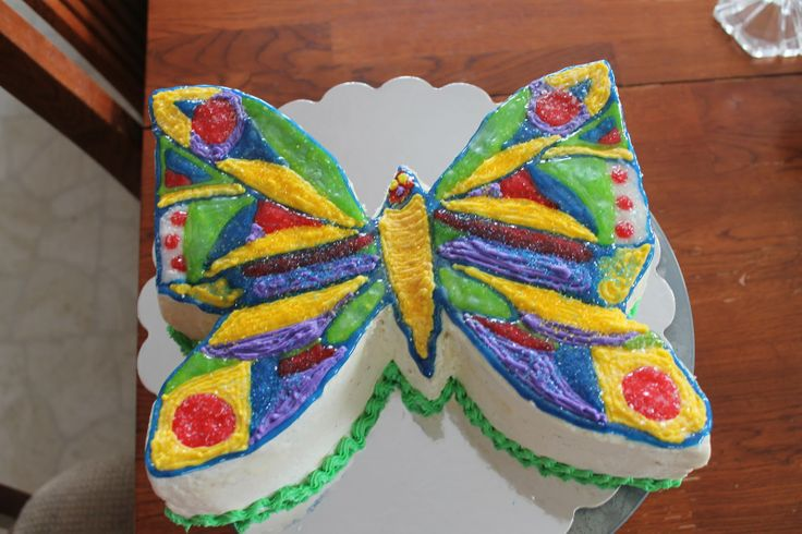 Very Hungry Caterpillar Butterfly Cake 16 best Hungry Caterpi...