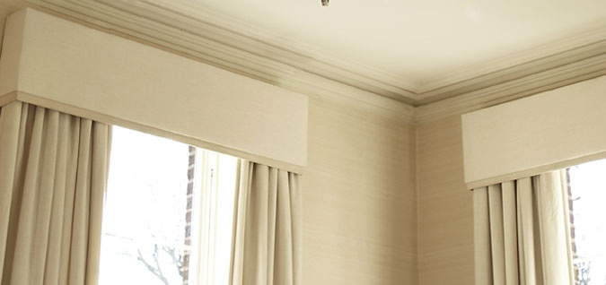 curtain pelmet idea