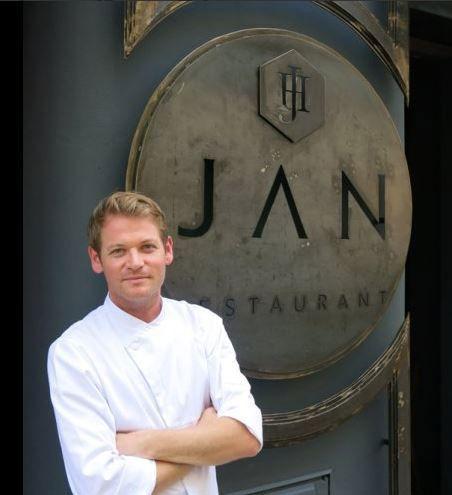 JAN Hendrik van der Westhuizen, first South African Michelin Star chef.