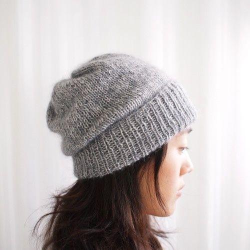 simple pleasures hat by purl soho