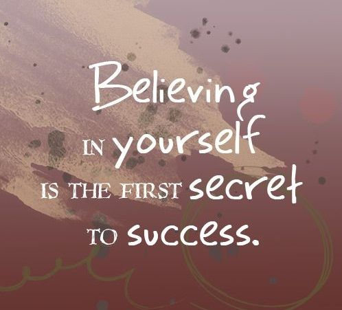 Believing in yourself. How to be succesful? Tap to see more positive, motivational and inspirational quotes. - @mobile9